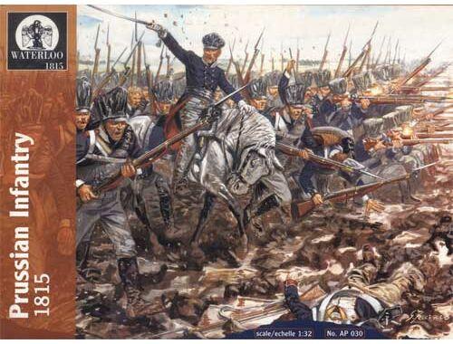 Waterloo Preussische Infantry, 1812-15 1:32 (AP030)
