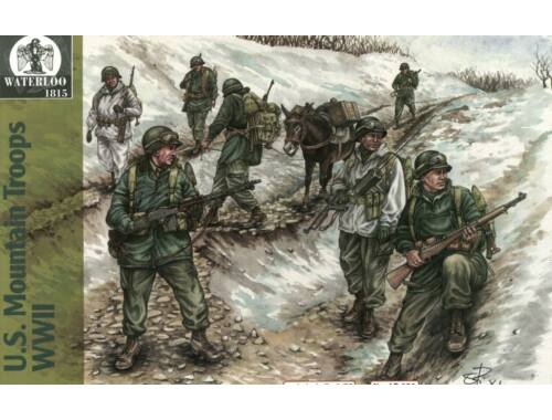 Waterloo U.S. Mountain Troops WWII 1:72 (AP031)