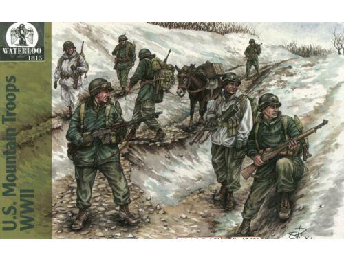 Waterloo U.S. Mountain Troops WWII 1:72 (AP031)