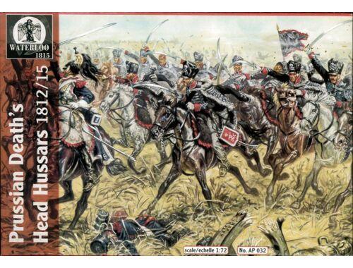Waterloo Prussian's Death's Head Hussars, 1812-15 1:72 (AP032)