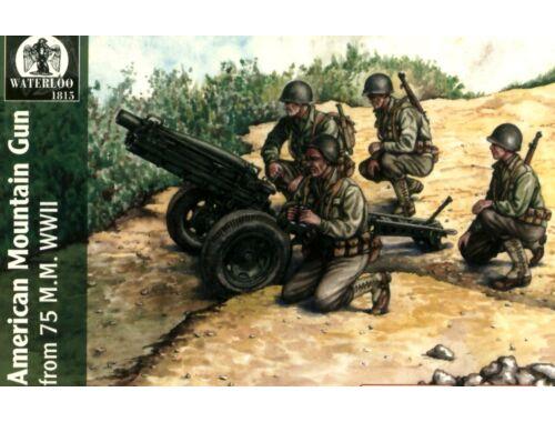 Waterloo American mountain gun 75 mm, WWII 1:72 (AP038)