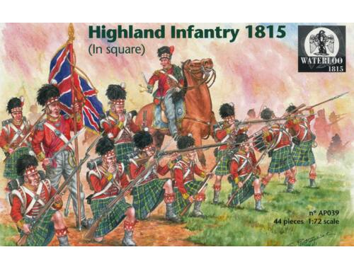 Waterloo Scottish infanty 1815 1:72 (AP039)