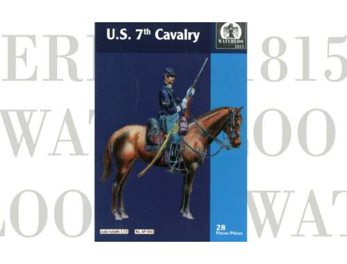 Waterloo U.S. 7th. Cavalary 1:72 (AP050)