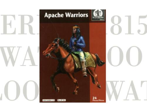 Waterloo Apache warriors 1:72 (AP051)