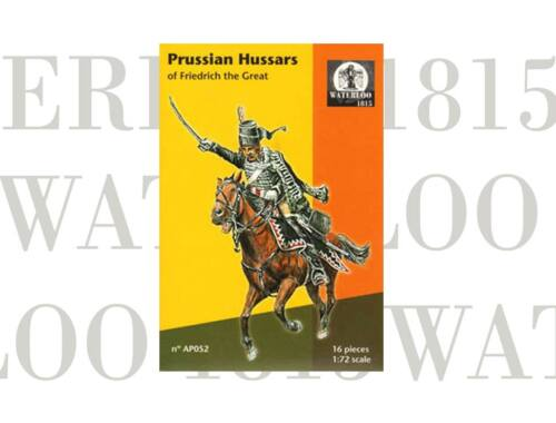 Waterloo Prussian Hussars of Fredrich the Great 1:72 (AP052)
