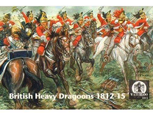 Waterloo British Heavy Dragoons 1812-1815 1:72 (AP053)