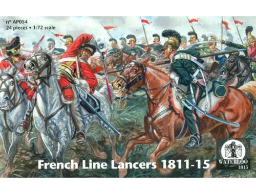 Waterloo French Line Lancers 1811-15 1:72 (AP054)