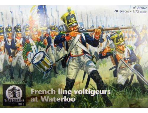 Waterloo French line voltigeurs at Waterloo 1:72 (AP062)