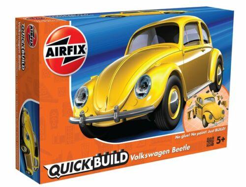 Airfix Quickbuild VW Beetle sárga autó J6023