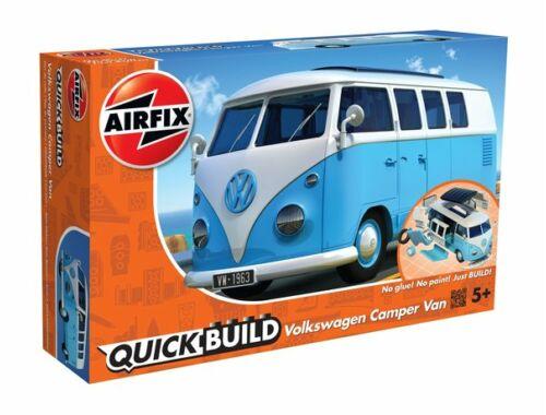 Airfix Quickbuild VW Camper Van kék kisbusz J6024