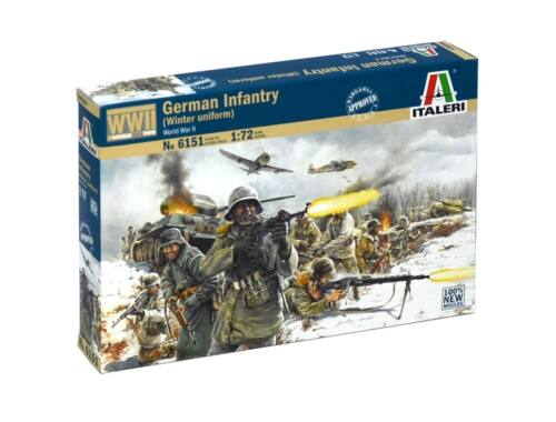 Italeri German Infantry (Winter Uniform) 1:72 (6151)