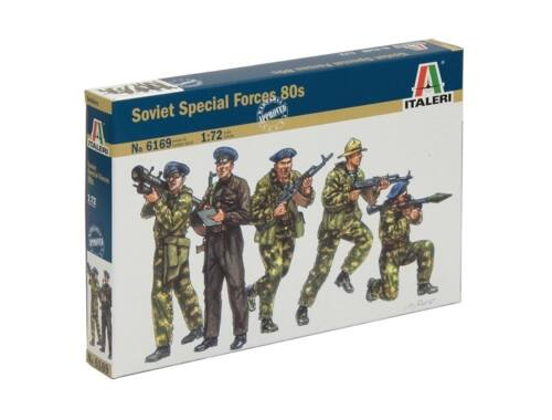 Italeri Soviet Special Forces 80s 1:72 (6169)
