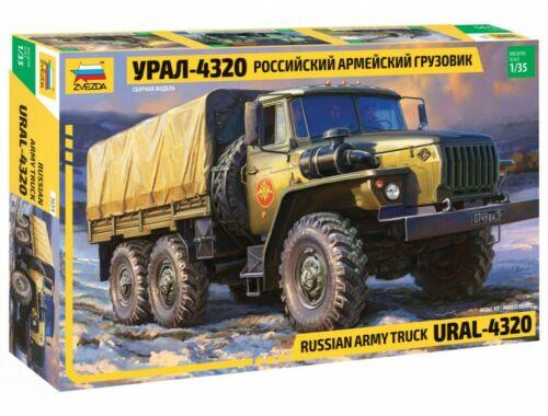 Zvezda Ural 4320 Truck 1:35 (3654)
