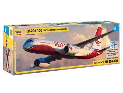 Zvezda Tupoljev TU 204/100 1:144 (7023)