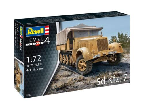 Revell Sd. Kfz. 7 (late) 1:72 (3263)