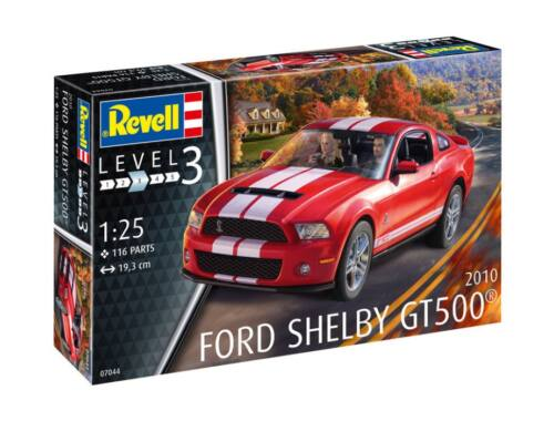 Revell 2010 Ford Shelby GT 500 1:25 (7044)