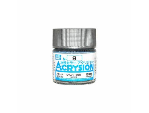 Mr.Hobby Acrysion N-008 Silver