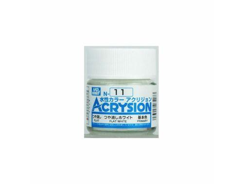Mr.Hobby Acrysion N-011 Flat White