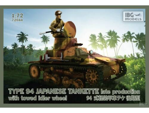 IBG Type 94 Light Tank Late 1:72 (72044)