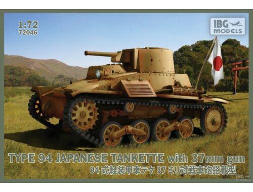 IBG Type 94 Light Tank w. 37mm Gun 1:73 (72046)