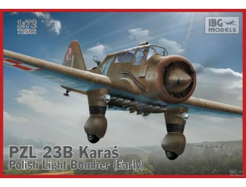 IBG PZL 23B Karas - Early 1:72 (72506)