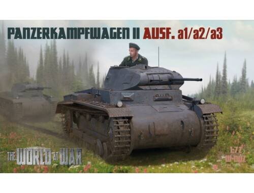 Waterloo World At War - German F. 2018/2 - Panzer II A1/2/3 (A002)