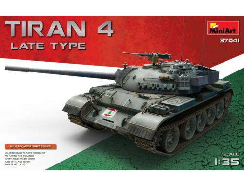 Miniart Tiran 4 Late Type 1:35 (37041)