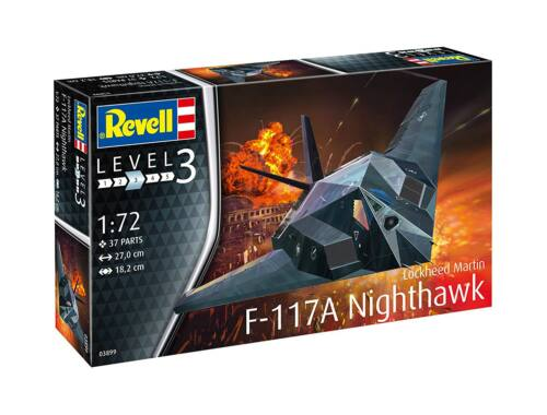 Revell F-117 Stealth Fighter 1:72 (3899)