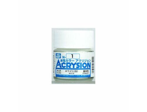 Mr.Hobby Acrysion N-001 White