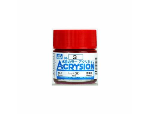 Mr.Hobby Acrysion N-003 Red
