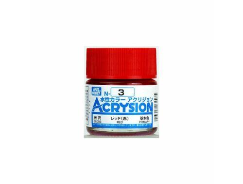 Mr.Hobby Acrysion N-003 Red