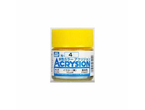 Mr.Hobby Acrysion N-004 Yellow
