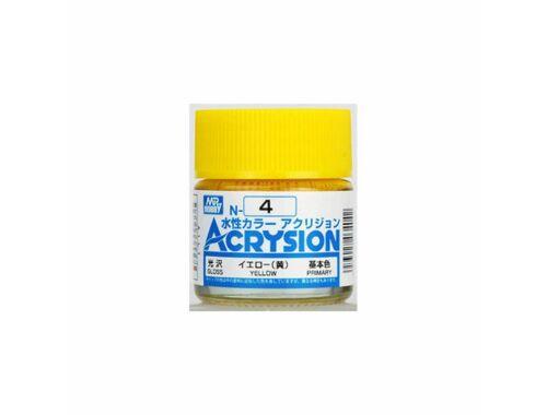 Mr.Hobby Acrysion N-004 Yellow