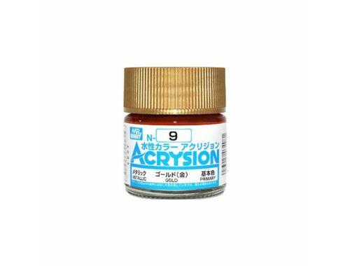 Mr.Hobby Acrysion N-009 Gold