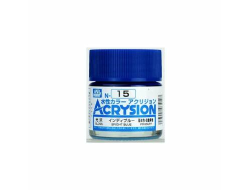 Mr.Hobby Acrysion N-015 Bright Blue