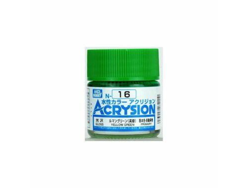 Mr.Hobby Acrysion N-016 Yellow Green