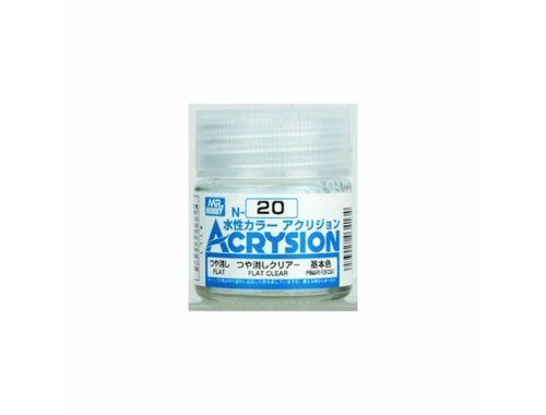 Mr.Hobby Acrysion N-020 Flat Clear
