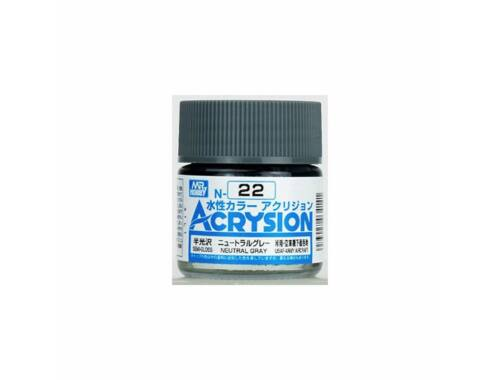 Mr.Hobby Acrysion N-022 Neutral Gray