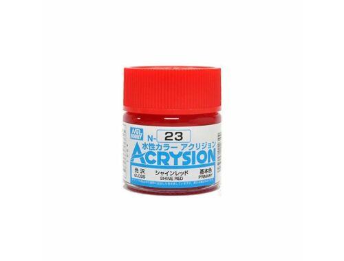 Mr.Hobby Acrysion N-023 Shine Red