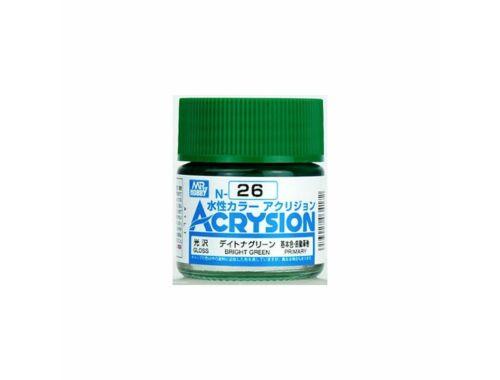 Mr.Hobby Acrysion N-026 Bright Green