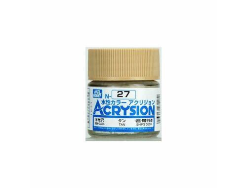 Mr.Hobby Acrysion N-027 Tan