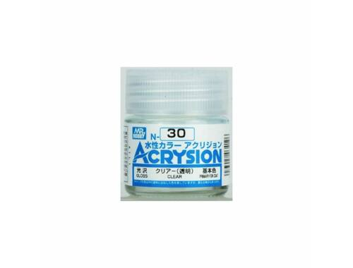 Mr.Hobby Acrysion N-030 Clear