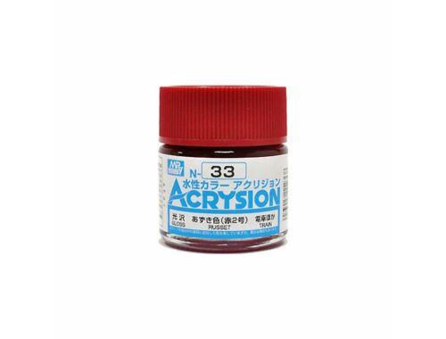 Mr.Hobby Acrysion N-033 Russet
