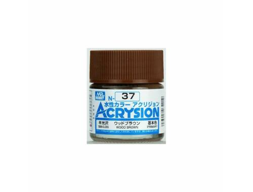 Mr.Hobby Acrysion N-037 Wood Brown