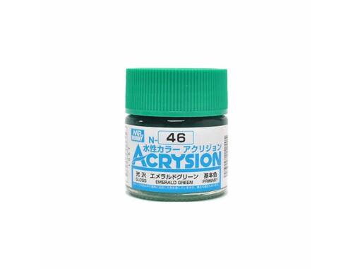 Mr.Hobby Acrysion N-046 Emerald Green