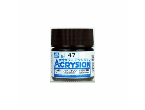 Mr.Hobby Acrysion N-047 Red Brown