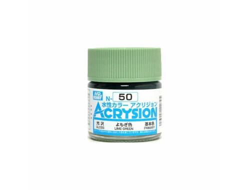 Mr.Hobby Acrysion N-050 Lime Green