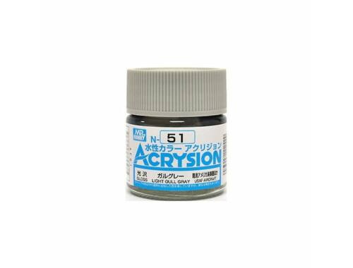 Mr.Hobby Acrysion N-051 Light Gull Gray