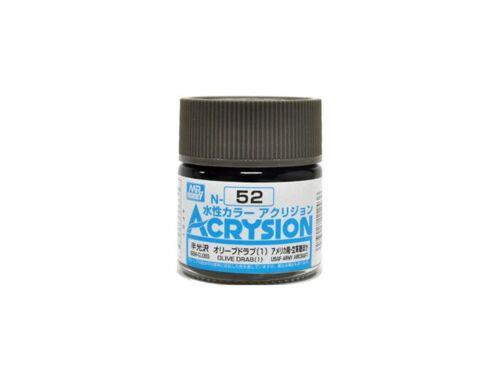 Mr.Hobby Acrysion N-052 Olive Drab (1)