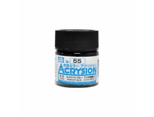 Mr.Hobby Acrysion N-055 Midnight Blue